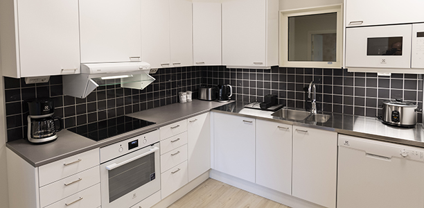 Shared 4 bedroom apartment - Common kitchen